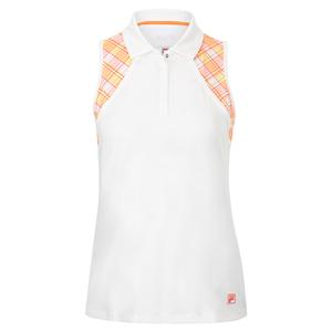 Women`s Mad for Plaid Sleeveless Tennis Polo