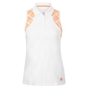 Women`s Mad for Plaid Sleeveless Tennis Polo