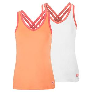 Women`s Mad for Plaid Cross Back Cami Tennis Tank