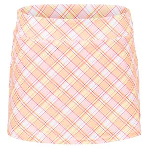 Women`s Mad for Plaid Printed A-Line 13.5 Inch Tennis Skort