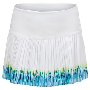 Girls` Let It Be Pleated Tennis Skort White and Opal