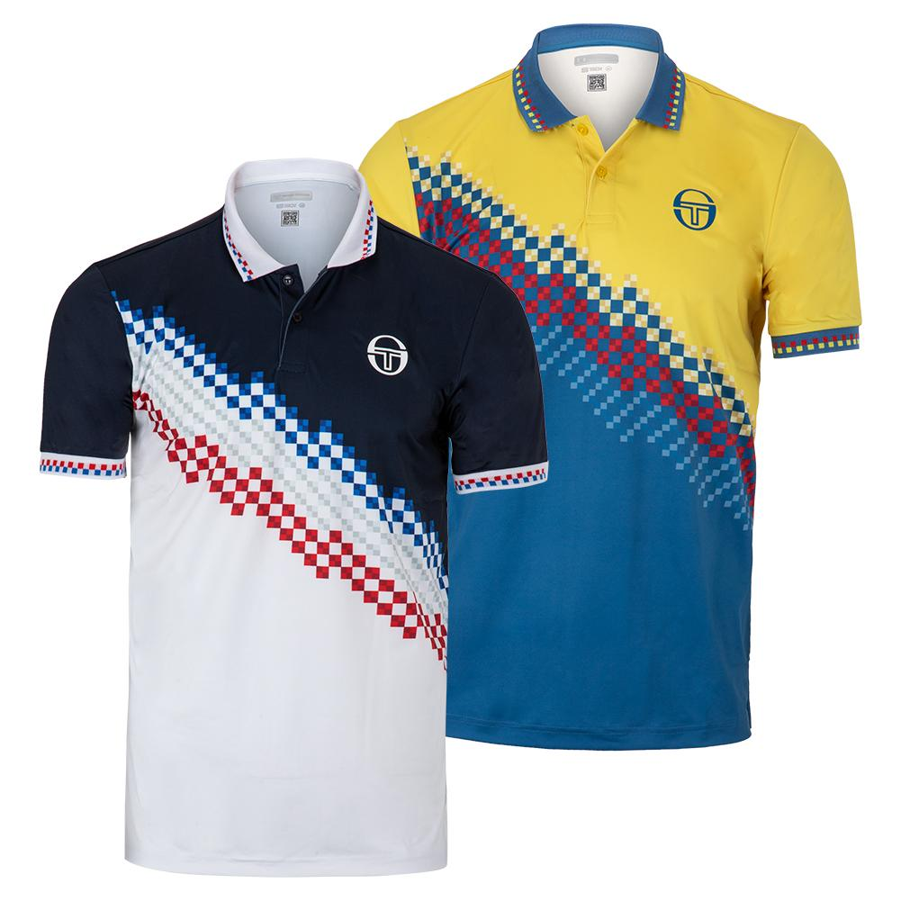 Men's Check Tennis Polo