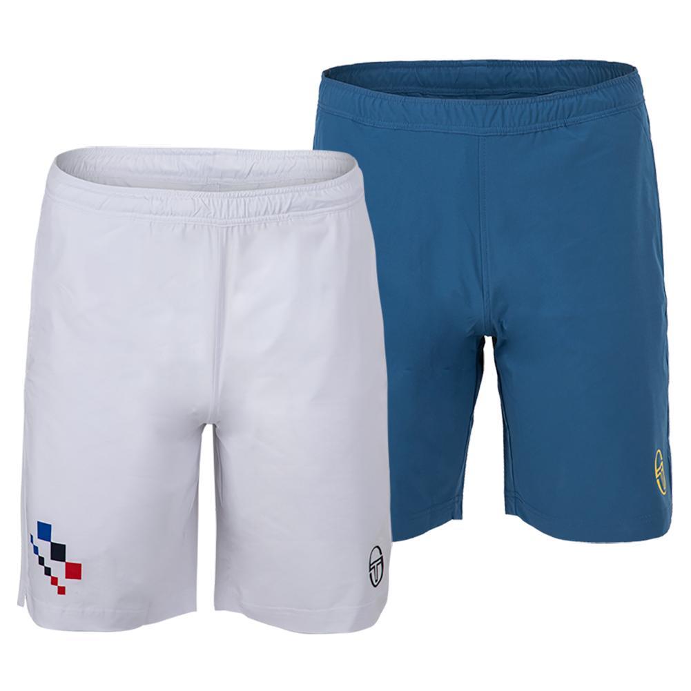 Men's Check Tennis Shorts