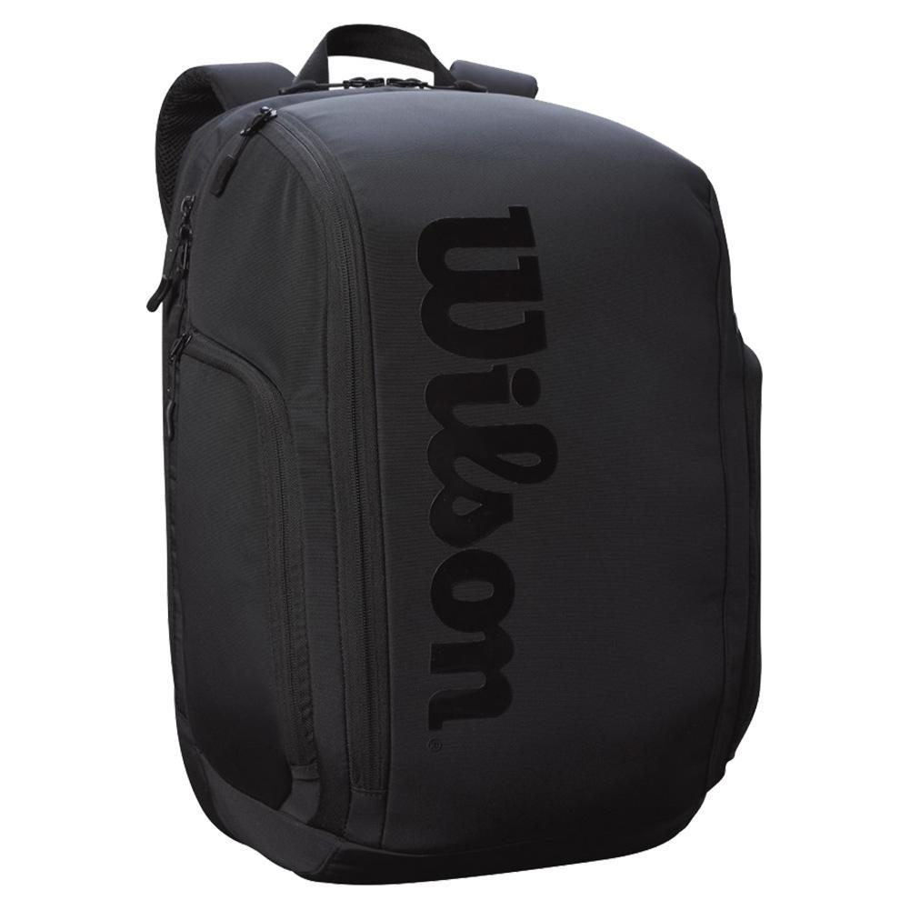 Super Tour Pro Staff Tennis Backpack Black