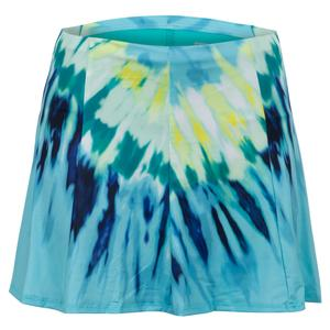 Women`s Long Day Trip Tennis Skort Opal