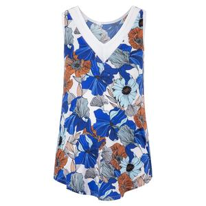 Women`s Maya Tennis Tank Bouquet