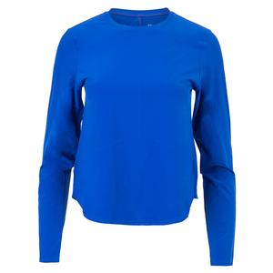 Women`s Hadleigh Long Sleeve Tennis Top Azurite