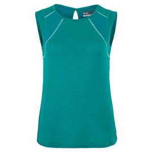 Women`s Power Tennis Tank Peacock and Aqua