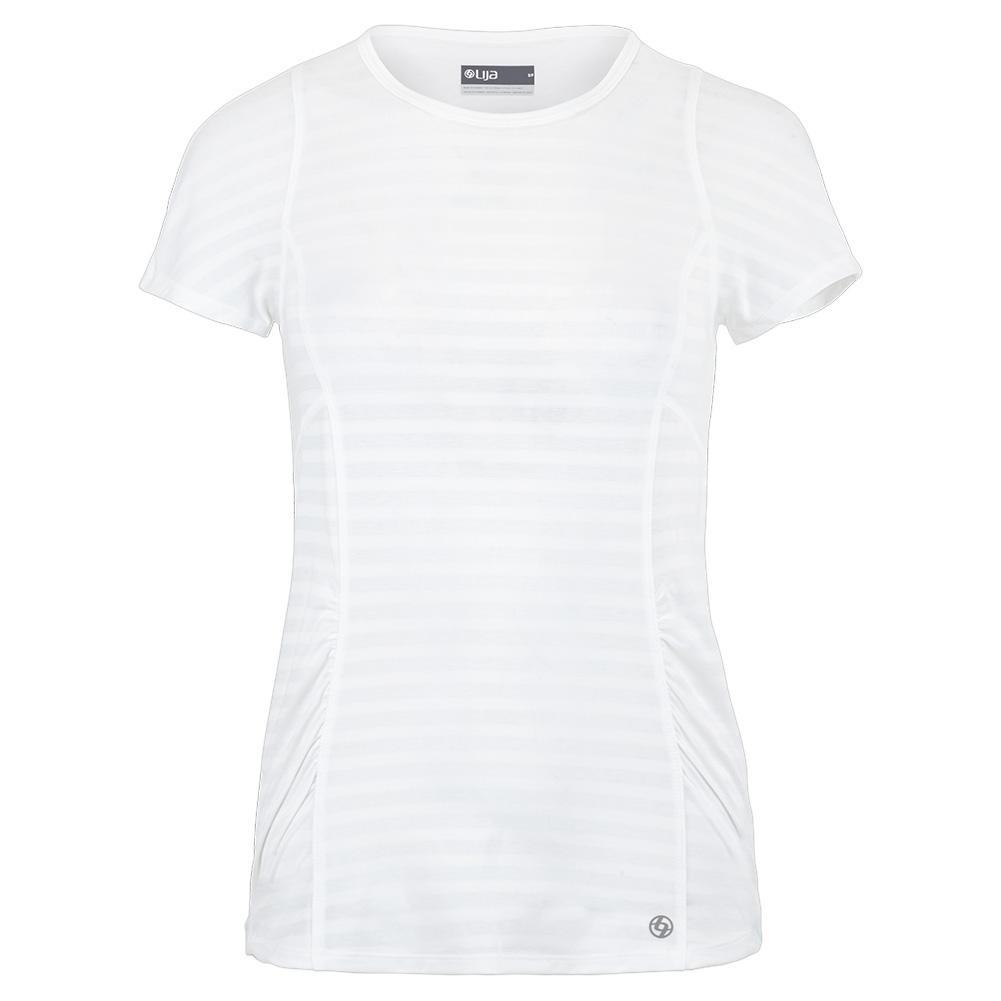 Women's Fluid Tennis Tee White