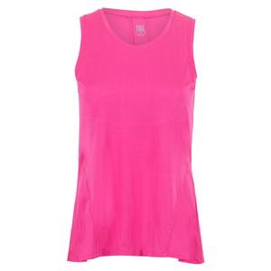 Women`s Lupe Tennis Tank Spiced Coral
