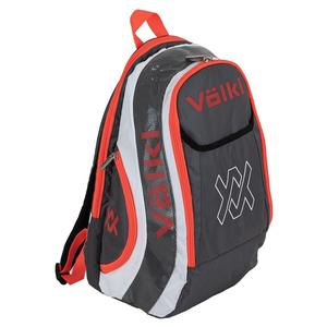 Tour Tennis Backpack Charcoal and Lava
