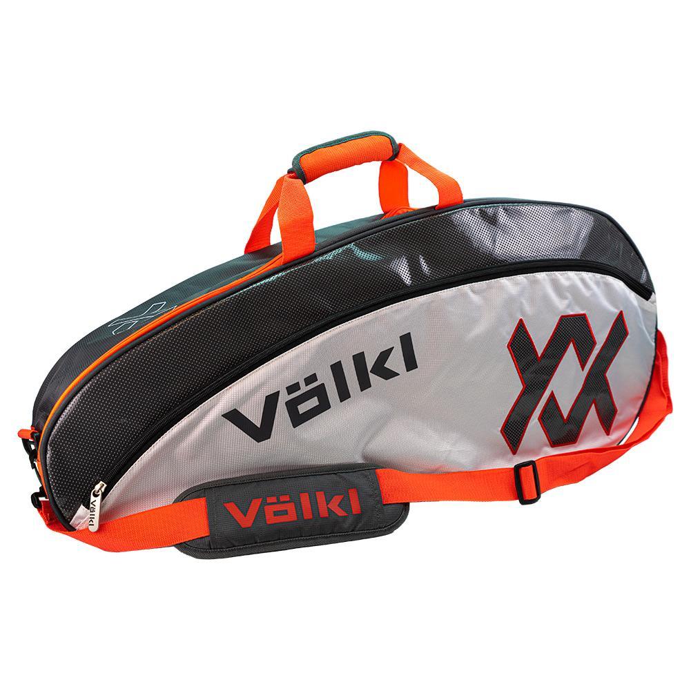 Tour Pro Tennis Bag Charcoal And Lava