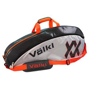 Tour Pro Tennis Bag Charcoal and Lava