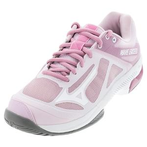 Women`s Wave Exceed SL AC Tennis Shoes Pink and White
