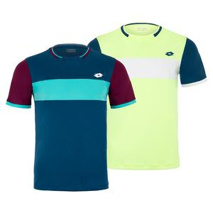 Men`s Top Ten II Color Block Tennis Top