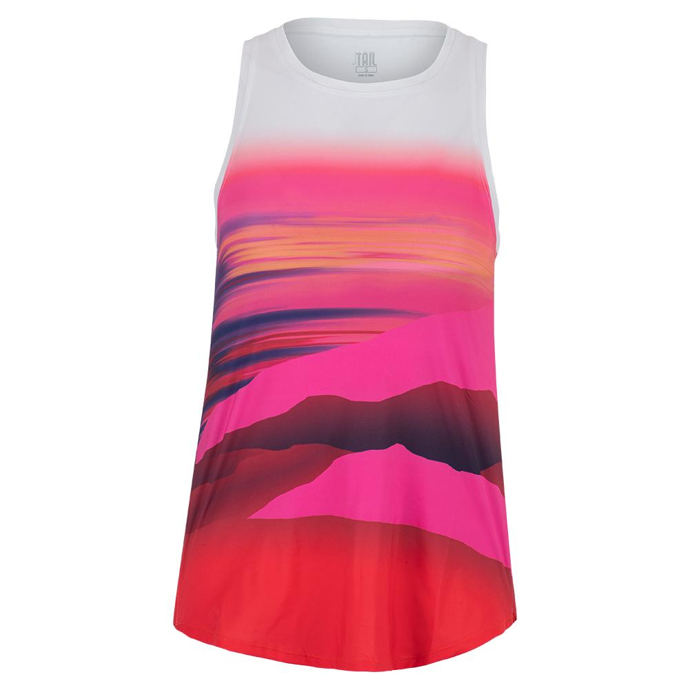 Women's Candy Tennis Tank Candy Coated