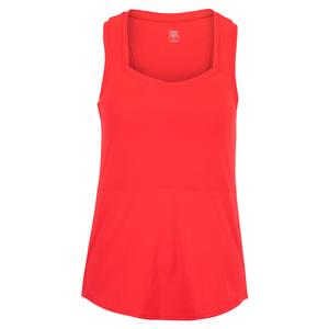Women`s Pepper Tennis Tank Aurora