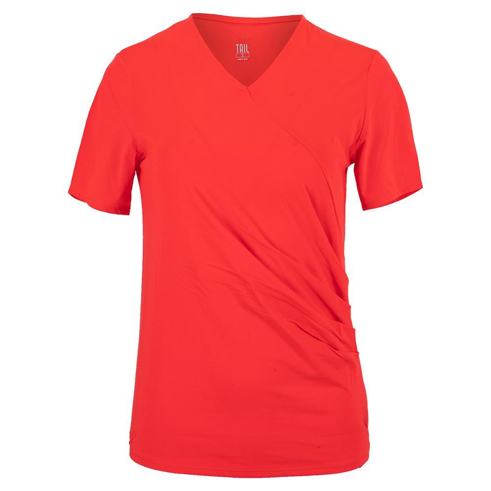 Women's Aura Cap Sleeve Tennis Top Aurora