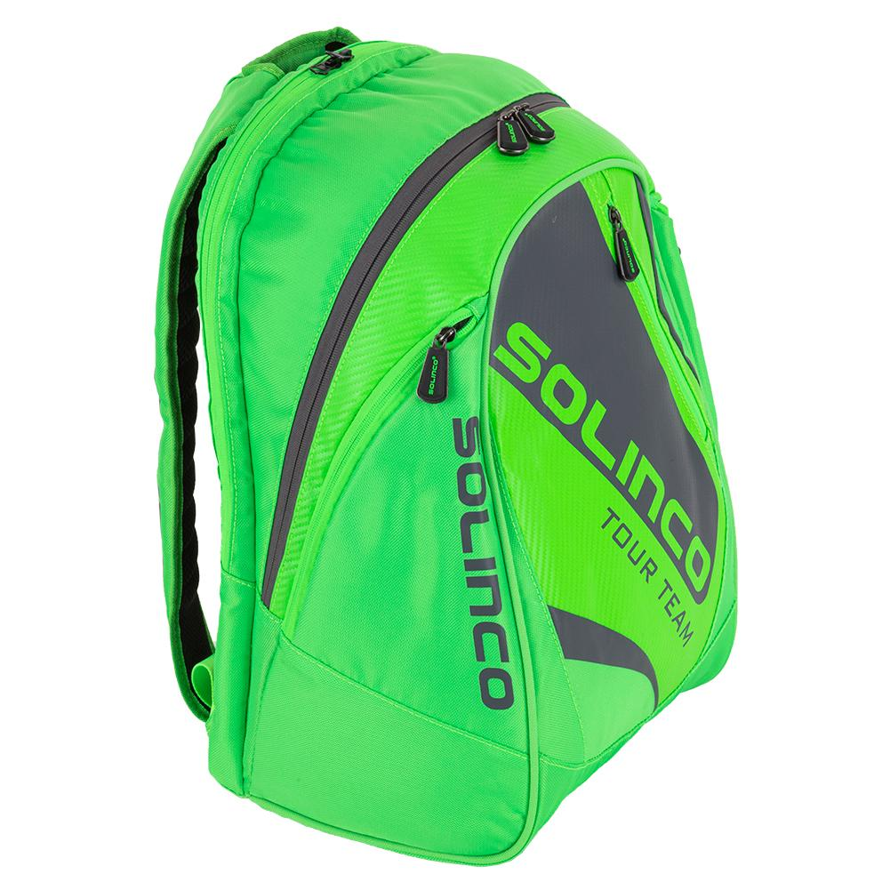 Tour Tennis Backpack Full Neon Green