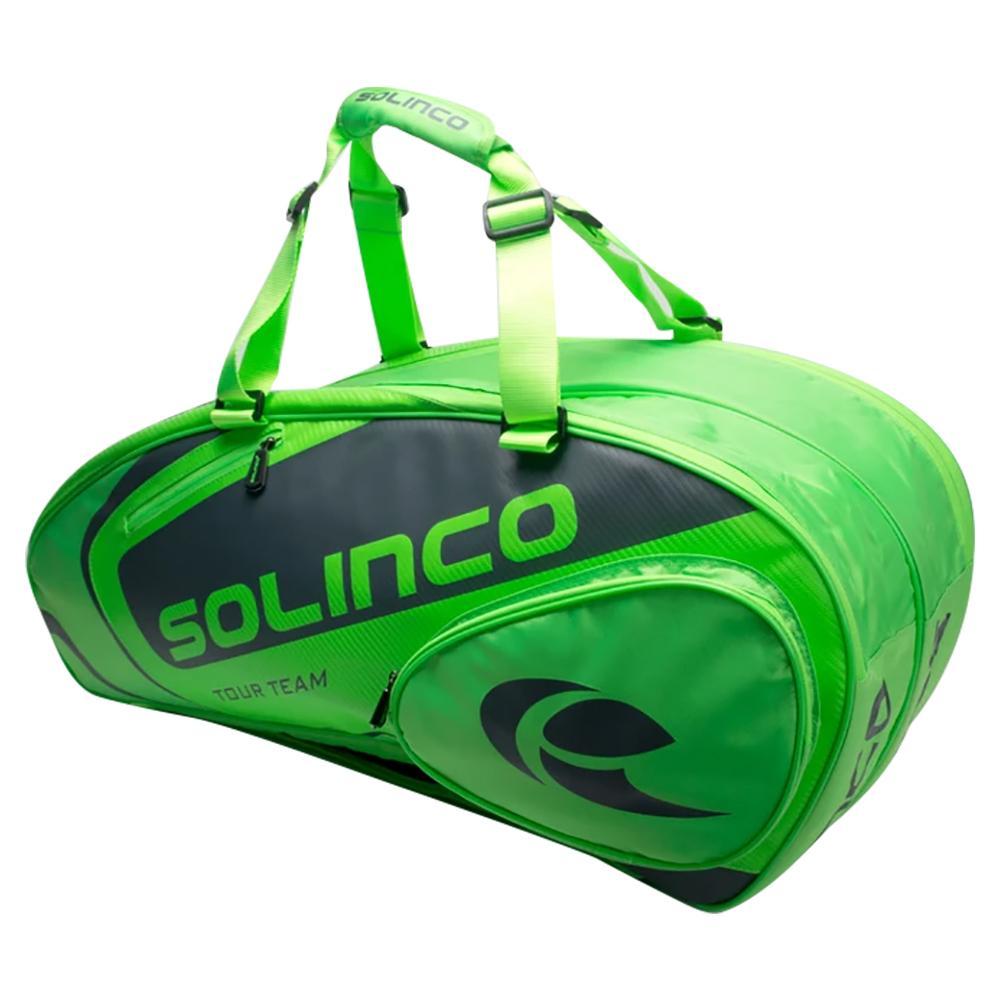 6- Pack Tennis Racquet Bag Full Neon Green