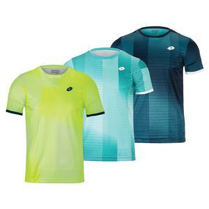 Men`s Top Ten II Printed Tennis Top