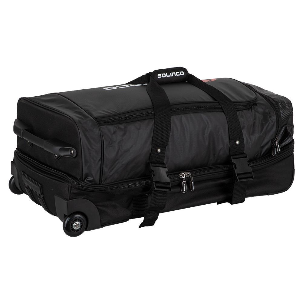 Tour Tennis Travel Bag With Wheels Black