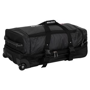 Tour Tennis Travel Bag with Wheels Black
