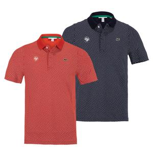 Men`s Roland-Garros All Over Print Tennis Polo