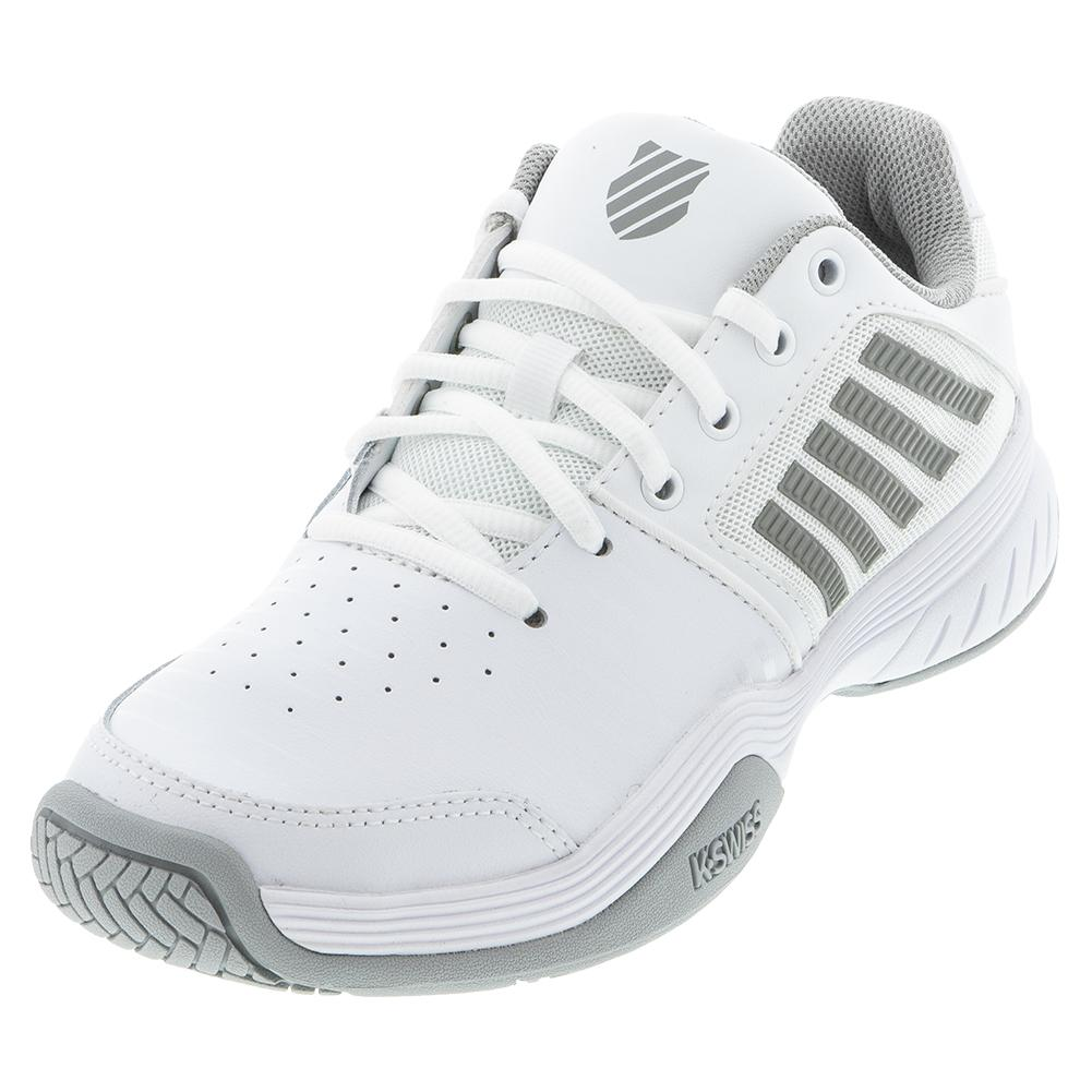 Women's Court Express Tennis Shoes White And Highrise