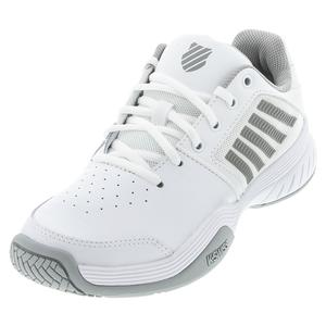Women`s Court Express Tennis Shoes White and Highrise