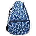 Women`s Tennis Backpack 274_BLUE_LEOPARD