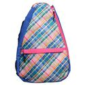 Women`s Tennis Backpack 283_PLAID_SORBET