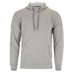 Juniors` Exercise Hooded Tennis Sweater High Rise Heather