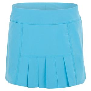 Women`s Dash Tennis Skort Blue Lagoon