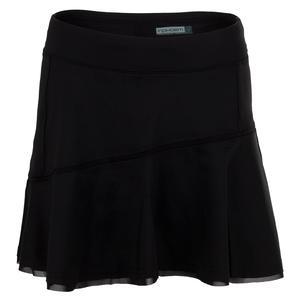 Women`s Core Classic 15 Inch Tennis Skort Black