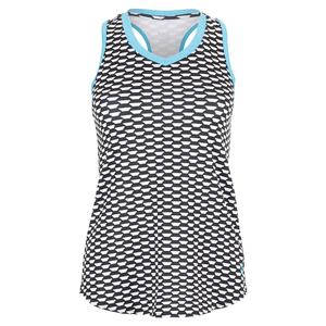 Women`s Crosscourt Tennis Tank Key West Print