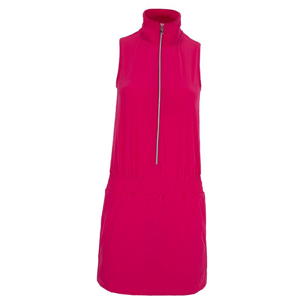 Women's Blythe Tennis Dress Fuchsia
