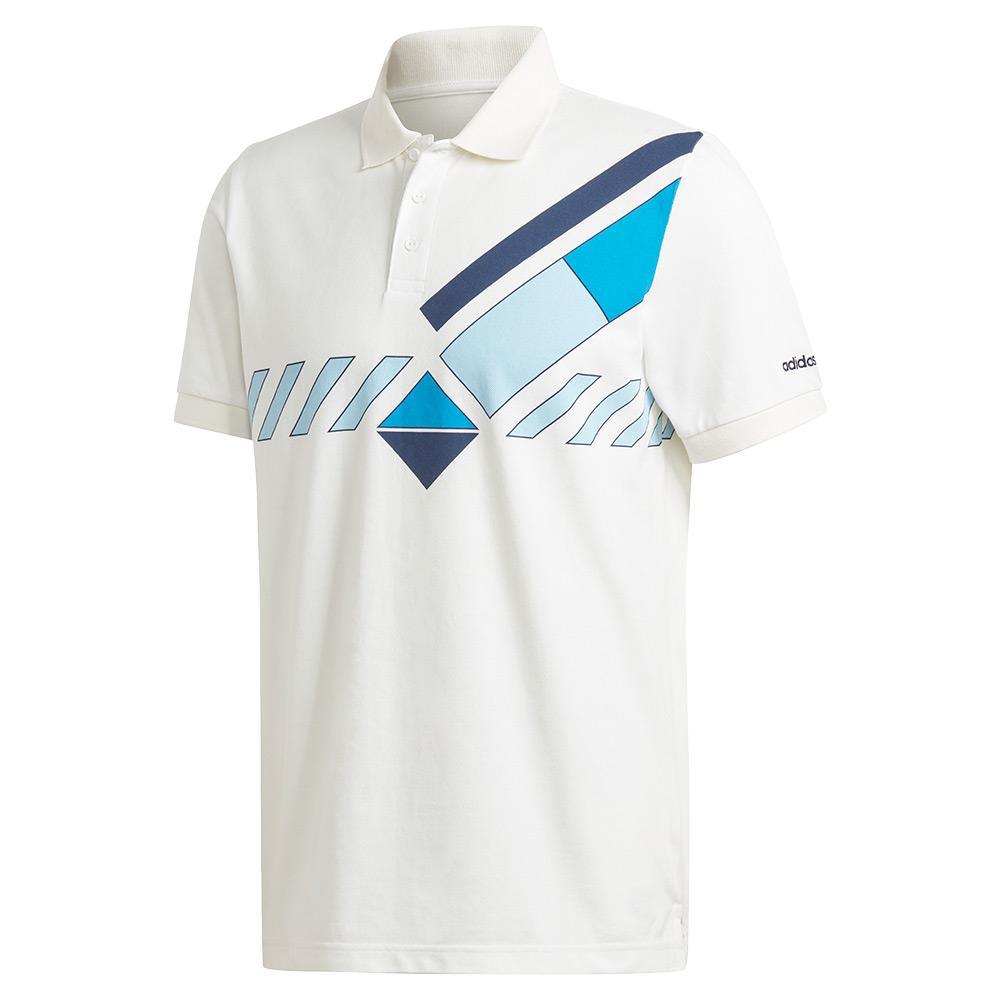 Men's Original Archive Tennis Polo White