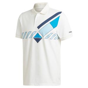Men`s Original Archive Tennis Polo White