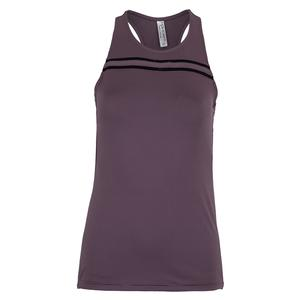 Women`s Harper Tennis Tank Deep Blush and Black