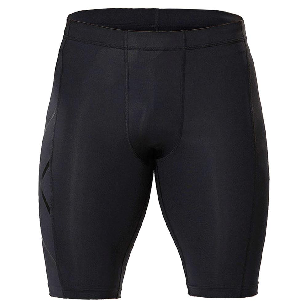 Men's Compression Shorts Black And Nero