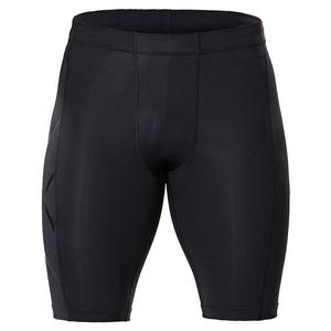 Men`s Compression Shorts Black and Nero