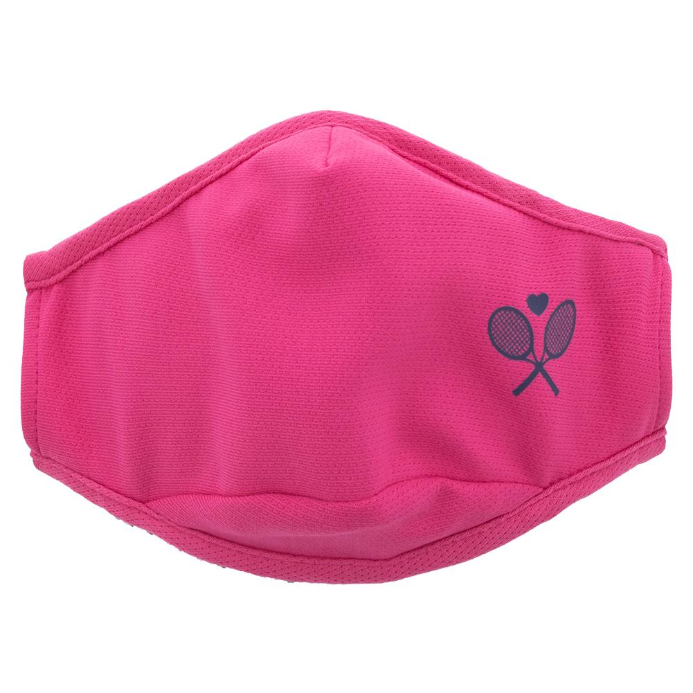 Women's Tennis Cool Fit Mask Hot Pink