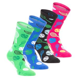Novelty Tennis Socks (Sizes 8-12)