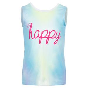 Girls` Happy Tie Back Tennis Tank Multicolor