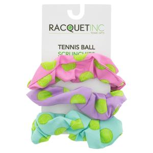 Tennis Ball Scrunchies (3-Pack)