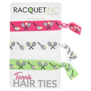 Tennis Hair Ties (3-Pack)