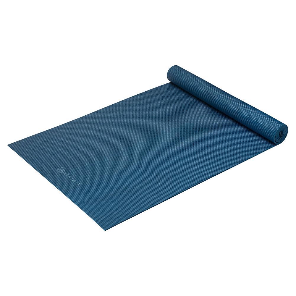 Classic Solid Color Yoga Mat (5mm) Indigo Ink