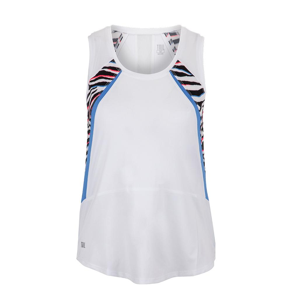 Women's Smith Tennis Tank Chalk And Grevy