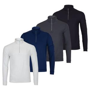 Men`s Mock Zip Tennis Top